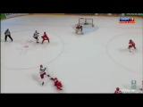 ЧМ по хоккею 2012 Россия 3-1 Дания гол Д.Калинин